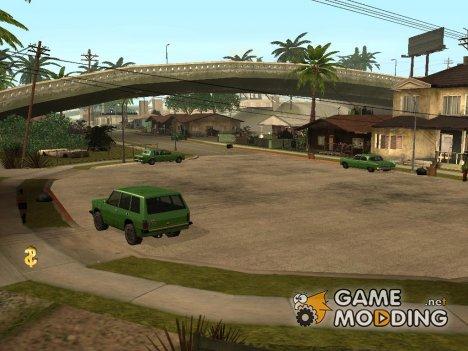 Припаркованные тачки для GTA San Andreas