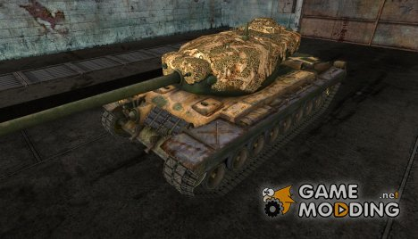 "Т30 ""Hunter"" (проекта King of Hill) for World of Tanks"