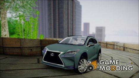 Lexus NX 200t  v2 for GTA San Andreas