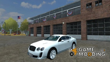 Bentley Continental GT for Farming Simulator 2013