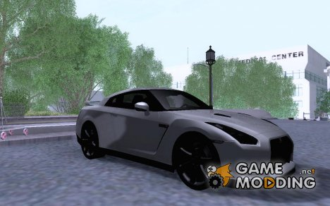 Nissan GT-R35 v1 for GTA San Andreas