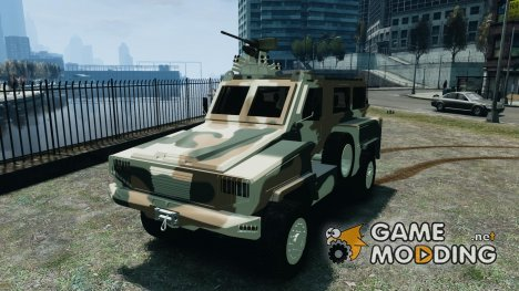 RG-31 Nyala SANDF for GTA 4