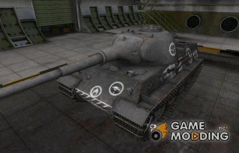 Зоны пробития контурные для Löwe for World of Tanks