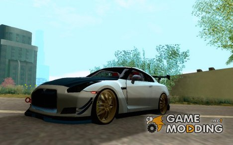 Nissan GTR R35 Tuning for GTA San Andreas