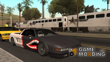 Infernus Shark Edition by ZveR v1 for GTA San Andreas