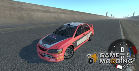 Mitsubishi Lancer Evolution IX 2006 for BeamNG.Drive