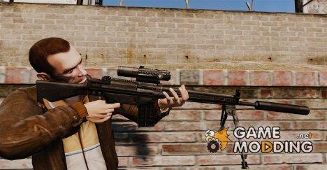Снайперская винтовка HK G3SG1 v1 for GTA 4