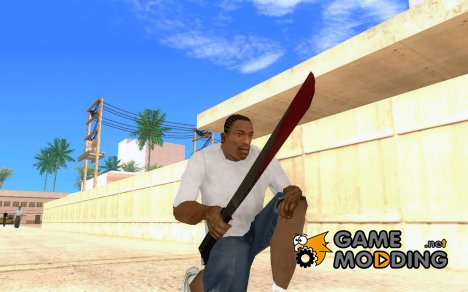 Friday the 13th Jason Machete для GTA San Andreas