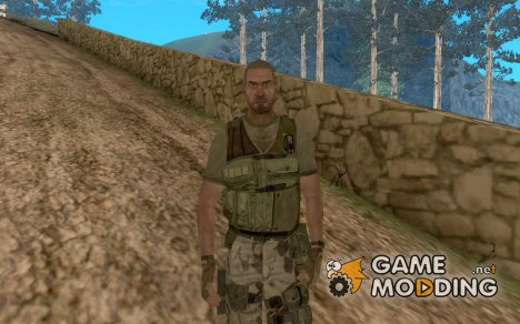 Sam Fisher Army SCDA для GTA San Andreas