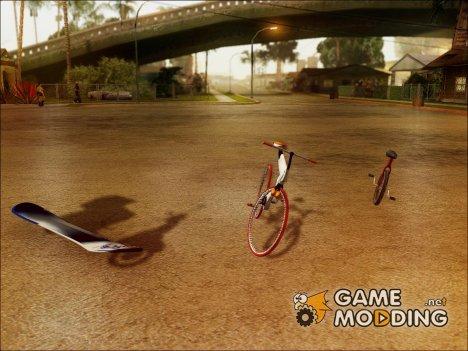 Пак прикольных великов V.1 для GTA San Andreas