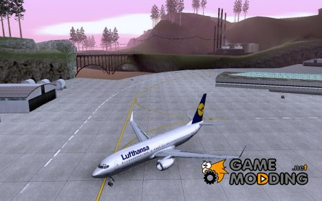 Boeing 737-800 Lufthansa for GTA San Andreas