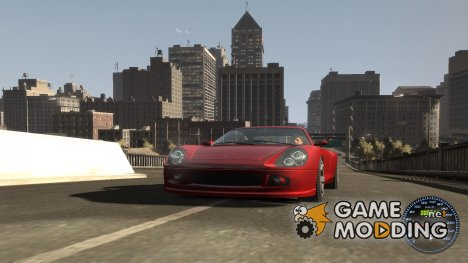 Спидометр IV (Скин 11) для GTA 4