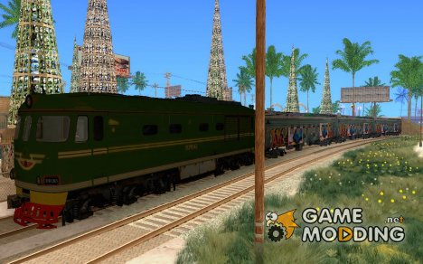 New Graffity Train for GTA San Andreas