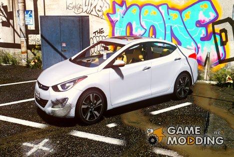 2016 Hyundai Elantra GLS 1.0 для GTA 5