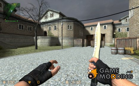 Gold and Silver Knife для Counter-Strike Source