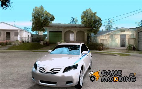 Toyota Camry 2010 SE Police UKR for GTA San Andreas