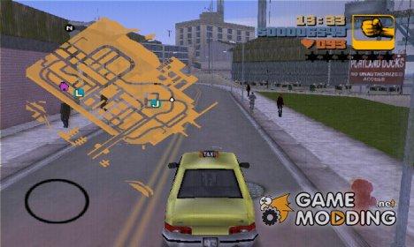 Реальная карта for GTA 3