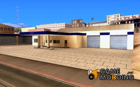 HD Garage in Doherty для GTA San Andreas