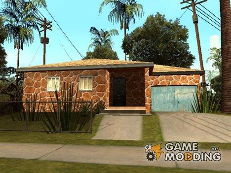 Новые текстуры домов по всему Грув Стриту for GTA San Andreas