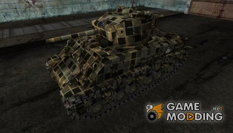 M4A3E8 Sherman mozart222 for World of Tanks