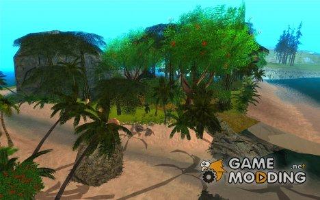 Тропический остров for GTA San Andreas