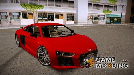 Audi R8 2017 v2.0 для GTA San Andreas