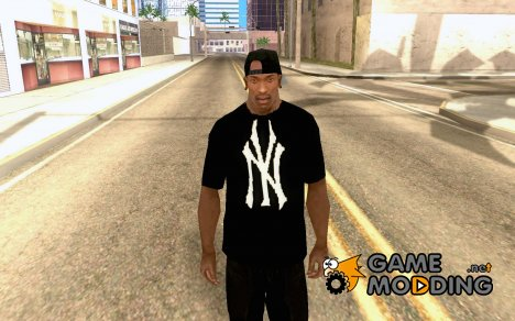 RAP Футболка for GTA San Andreas