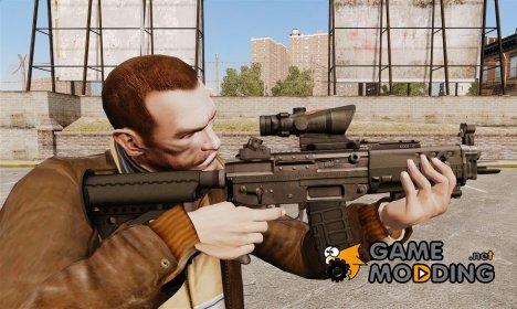 Штурмовая винтовка SIG 552 for GTA 4