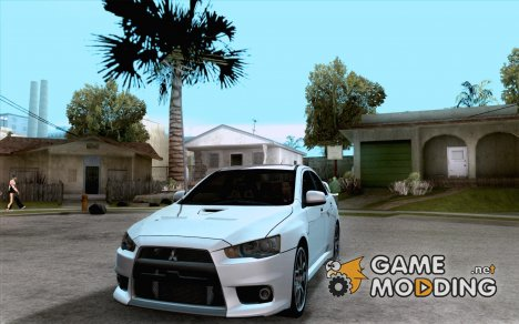 Mitsubishi Lancer Evo 2010 для GTA San Andreas