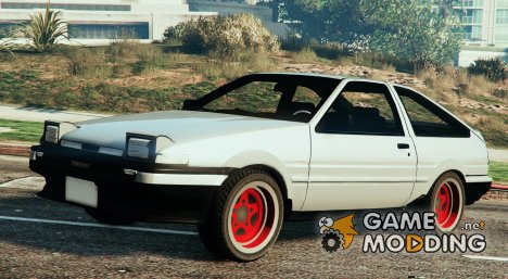 Toyota AE86 Sprinter for GTA 5
