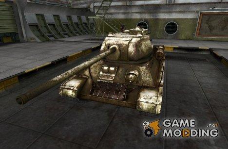 Ремоделинг для танка Т-34-85 с танкистами for World of Tanks