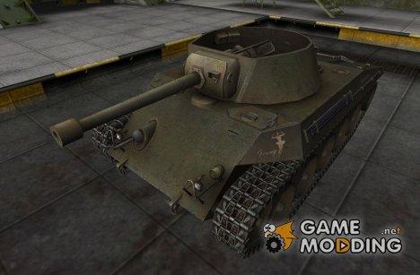 Ремоделлинг для Т49 for World of Tanks