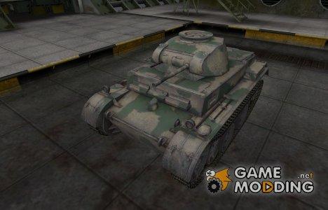 Скин для немецкого танка PzKpfw II Ausf. G для World of Tanks