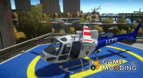 AS350 Ecureuil v1.1 для GTA 4