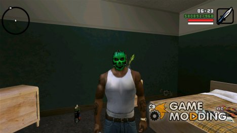 "Маска ""Электро"" v2 для GTA San Andreas"