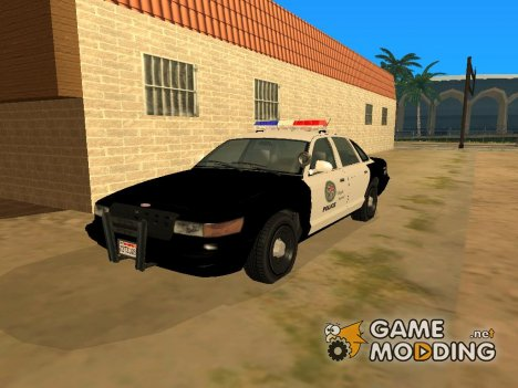 Vapid GTA V Police Car for GTA San Andreas