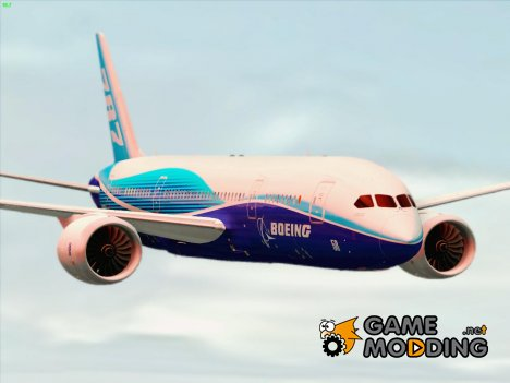 Boeing 787-8 Boeing House Colors (Dreamliner Prototype) для GTA San Andreas