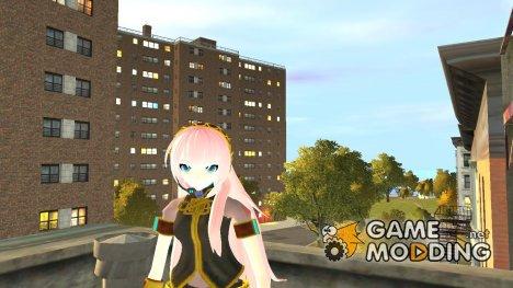 Megurine Luka для GTA 4