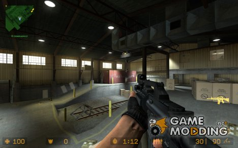 Experimental M4A2 (Toxic kittens anims) для Counter-Strike Source