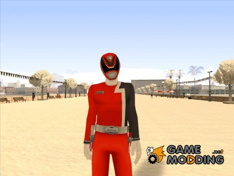 Power Rangers RPM Red для GTA San Andreas