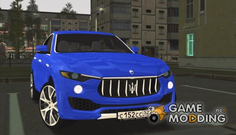Maserati Levante 2016 for GTA San Andreas