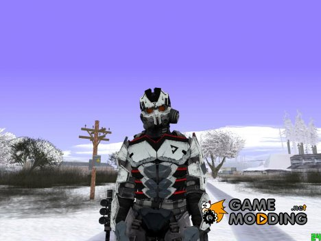 Skin Helghast Capture Trooper (Killzone 3) для GTA San Andreas