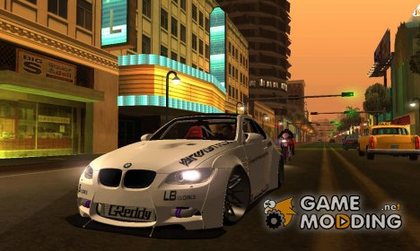 BMW M3 E92 Liberty Walk Performance 2013 для GTA San Andreas