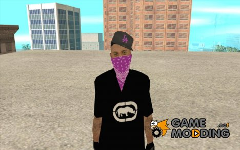 New Ballas Skin for GTA San Andreas