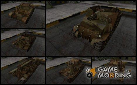 Пак с камуфляжем для американских танков v2 для World of Tanks