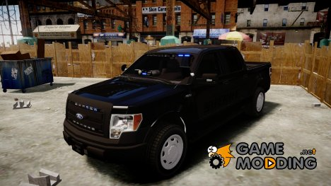 Ford F150 Liberty County Sheriff Slicktop для GTA 4