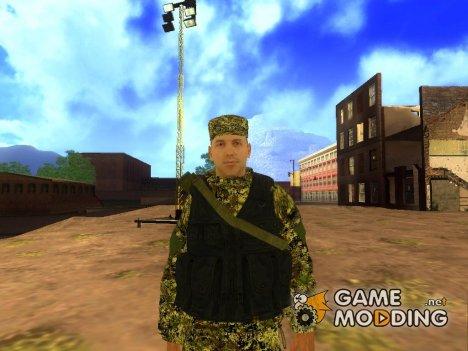 Shooter militia for GTA San Andreas