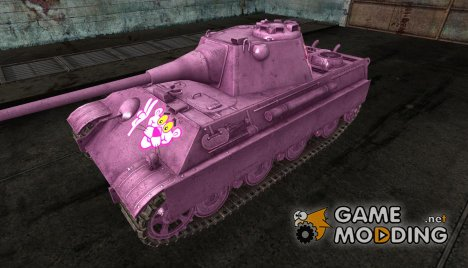 Шкурка для Pink Panther II for World of Tanks