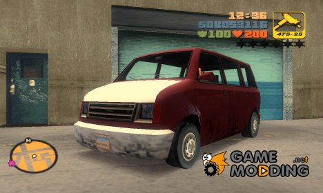 Moonbeam из GTA SA for GTA 3