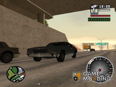 Новый cпидометр for GTA San Andreas